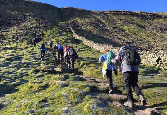 Team Three Peak Challenge