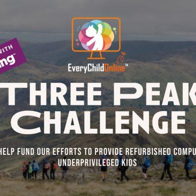 ECO Founders Climb Three Peaks to Raise Vital Funds