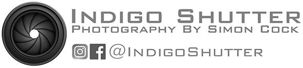 Indigo Shutter Logo – in white- Medium – Copy